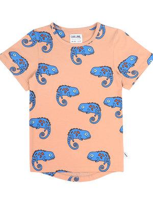 CarlijnQ Chameleon boy - t-shirt dropback