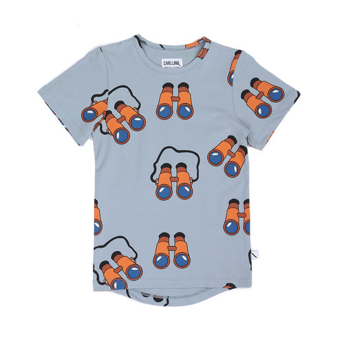 CarlijnQ Binocular - t-shirt drop back