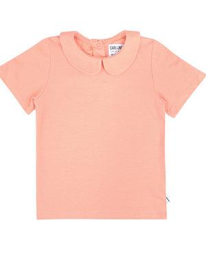 CarlijnQ T-shirt collar (pink)