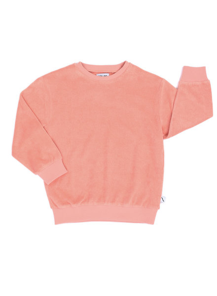 CarlijnQ Sweater pink badstof