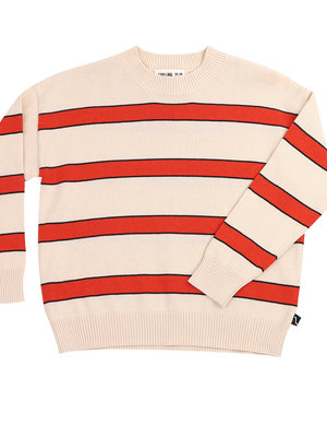 CarlijnQ Palm leaf - sweater stripes (knit)