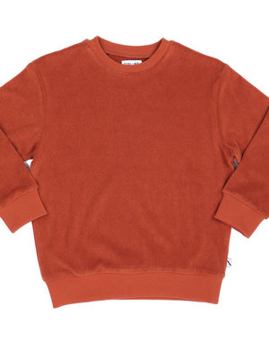 CarlijnQ Sweater cinnamon badstof