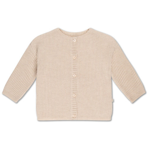 repose knit cardigan - soft white