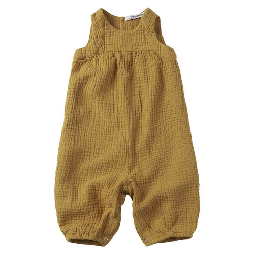 mingo Playsuit Sleeveless Spruce Yellow