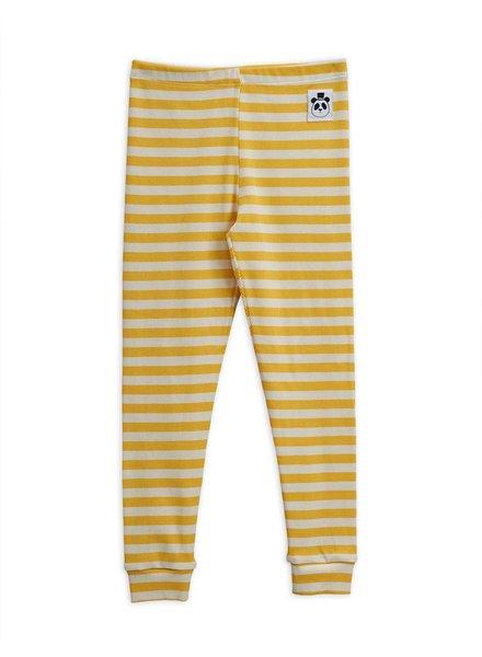 Mini rodini Stripe rib leggings