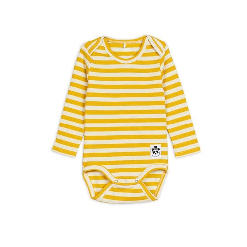Mini rodini Stripe rib ls body