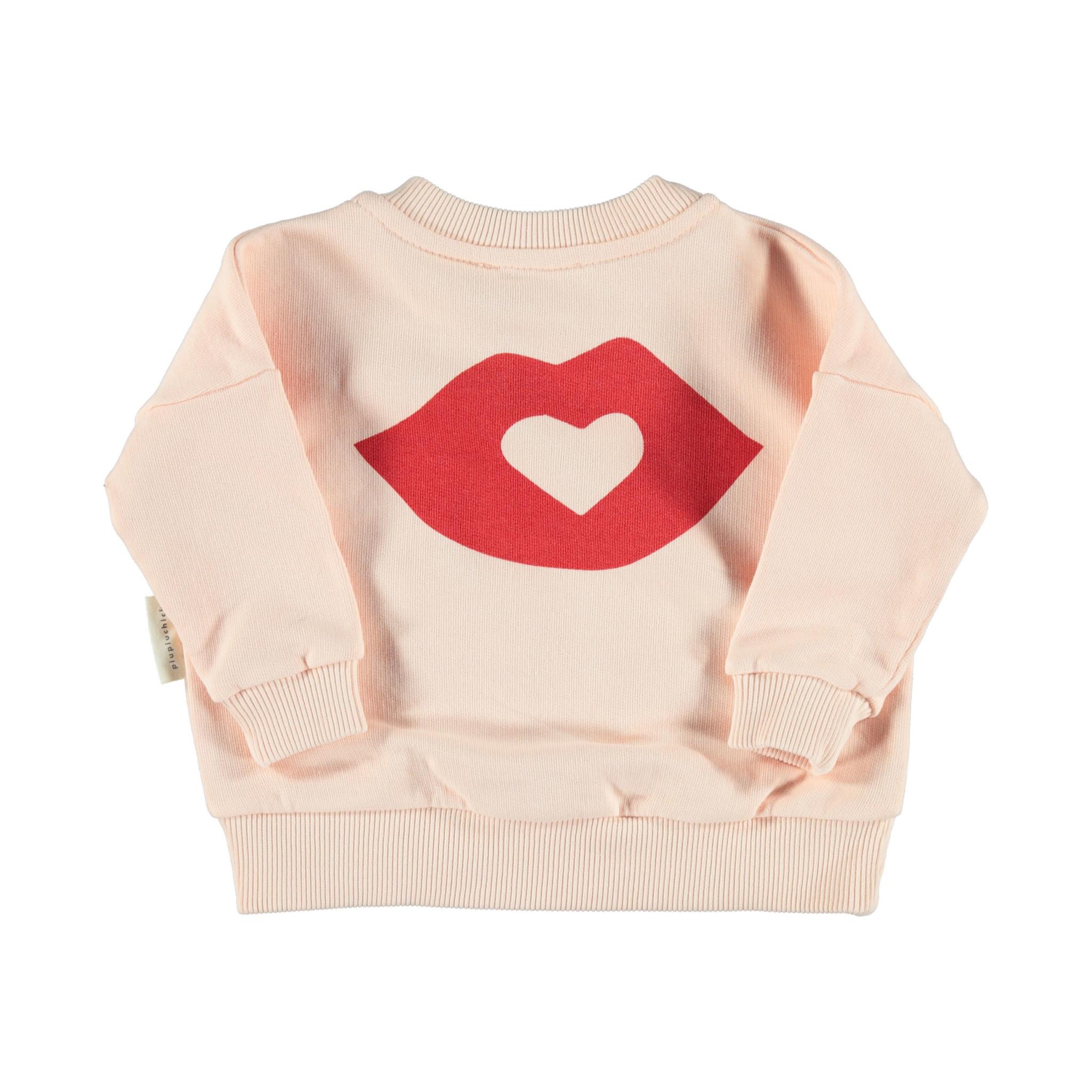 piupiuchick Sweatshirt pale pink