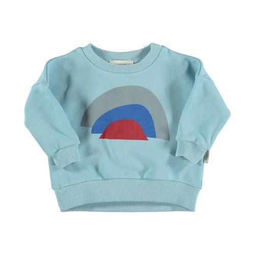 piupiuchick Sweatshirt mist blue