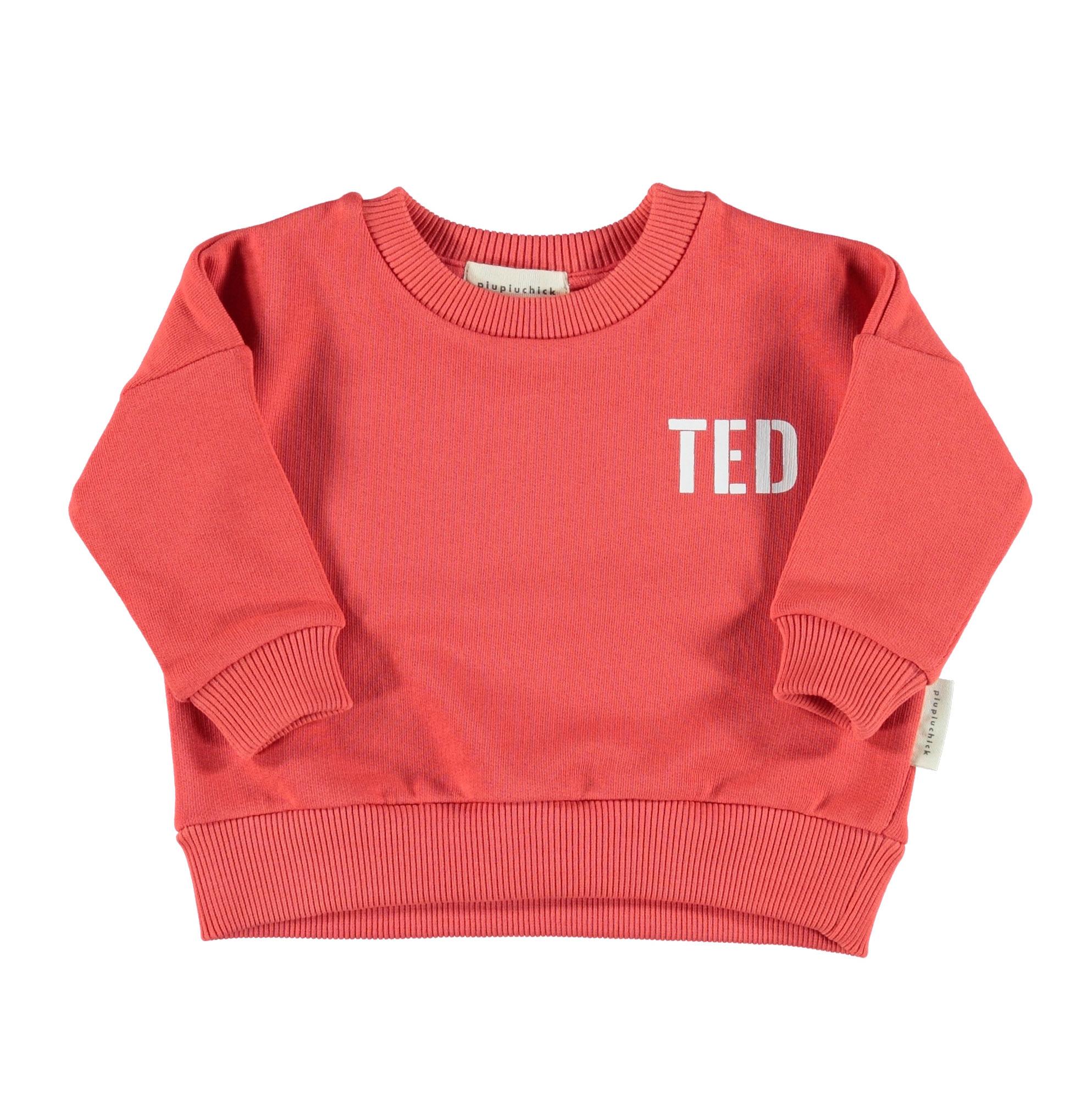piupiuchick Sweatshirt red white