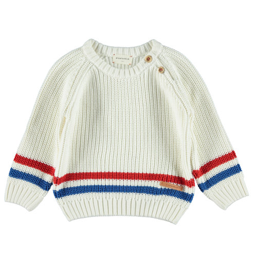 piupiuchick Knitted sweater off white
