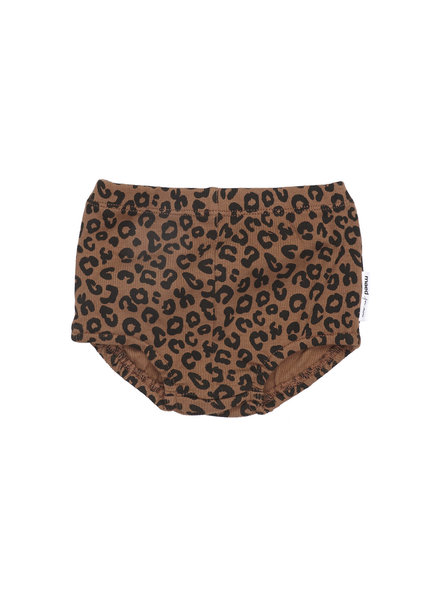 Maed for mini Choclate leopard bloomer