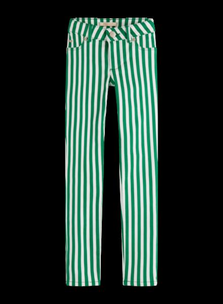 Scotch & Soda 155202 Skinny fit pants in stripes