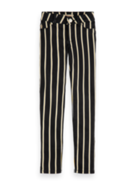 Scotch & Soda 155202 Skinny fit pants in stripes