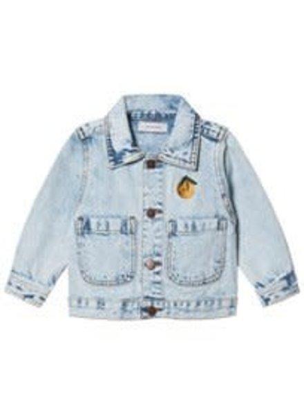 Tiny cottons Denim jacket snowy blue