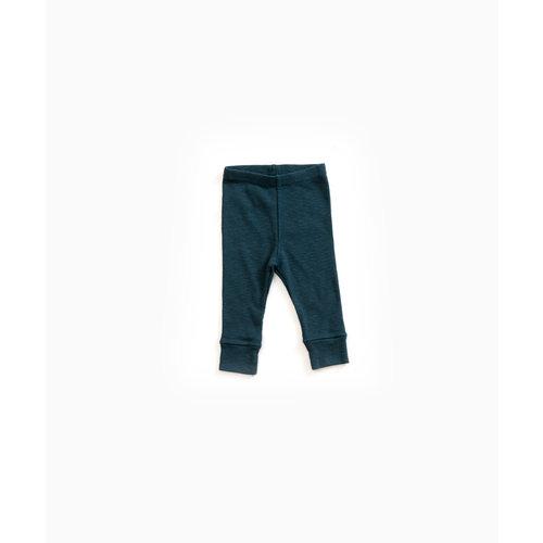 Play Up Rib Legging 10906 donkerblauw