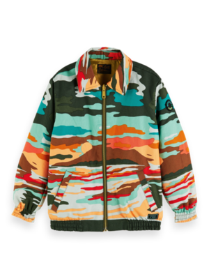 Scotch & Soda Souvenir jacket with collar