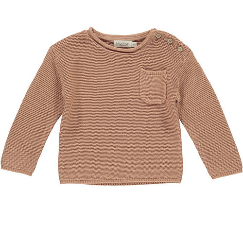 MarMAr CPH Tade rose stone knit sweater