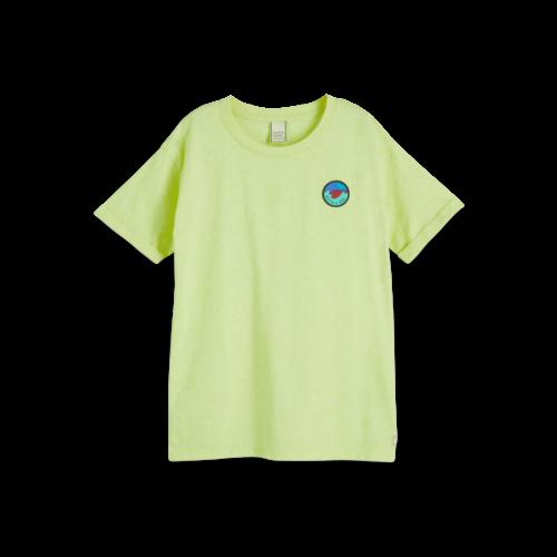 Scotch & Soda Tshirt neon geel 154845