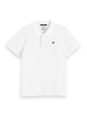 Scotch & Soda Polo 154907 wit