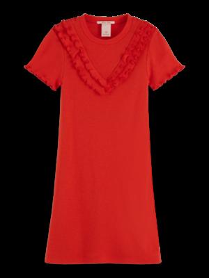 Scotch & Soda Jersey rib dress 155768