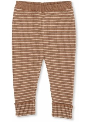 Konges slojd meo Knit pants cotton sahara rice