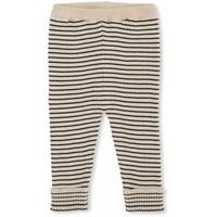 meo Knit pants cotton navy/rice