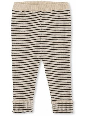 Konges slojd meo Knit pants cotton navy/rice