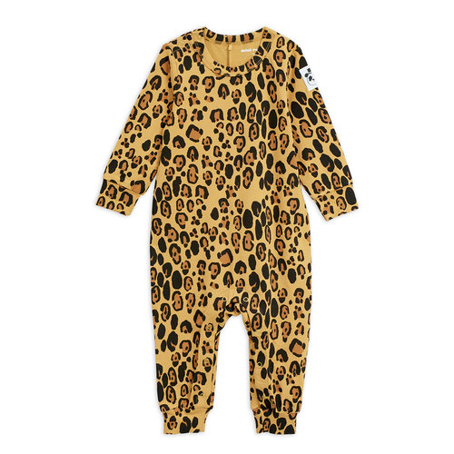 Mini rodini Basic leopard jumpsuit tencel