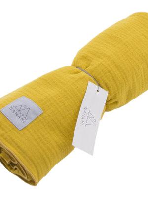 Nanami Swaddle 120 x 120 yellow