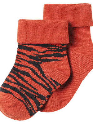 noppies 204N5023 Socks 2pck Blanquillo Spicy ginger