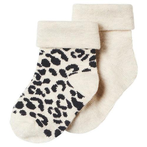 noppies 204N5023 Socks 2pck Blanquillo Oatmeal