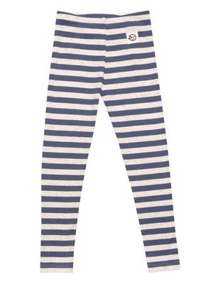 Wynken Stripe legging blue / cabbage white
