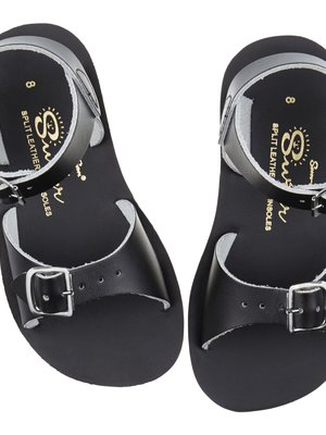 Saltwatersandals Surfer Black (20-24)