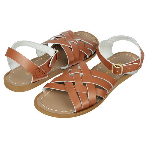 Saltwatersandals Retro Youth Tan