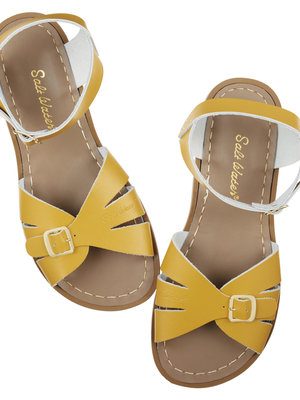 Saltwatersandals Classic youth mustard (32-35)