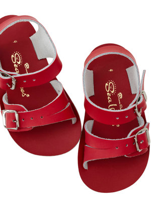 Saltwatersandals Sea Wee Child Red