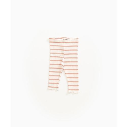 Play Up 2AG11652 stripe ribbed legging