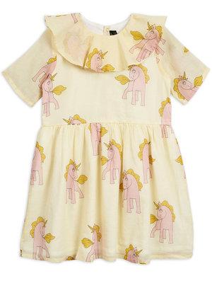 Mini rodini Unicorn woven dress