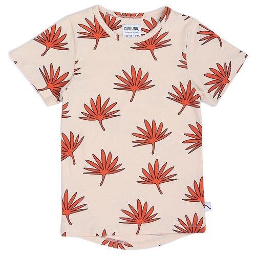 CarlijnQ Palm leaf T-shirt Dropback