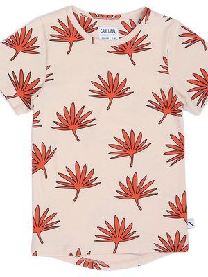CarlijnQ Palm leaf T-shirt Dropback