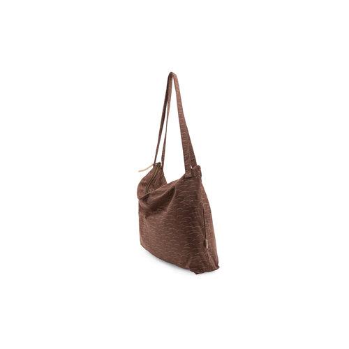 Nanami Mom bag hills print brown