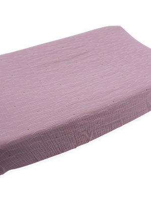 Nanami Changing mat hills print pink