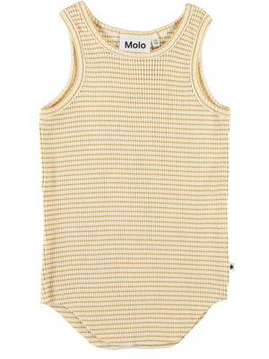 Molo Hemdje Roberta white yellow stripe