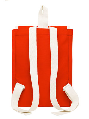 YKRA Scout backpack orange red