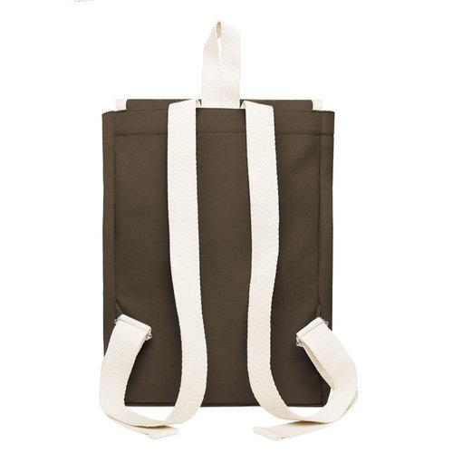 YKRA Scout backpack orange khaki