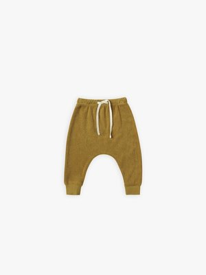 Quincy Mae Terry sweatpants Ocre