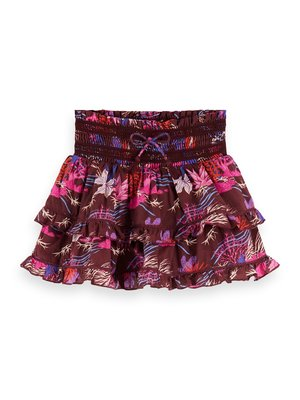 Scotch & Soda 155367 Printed mini skirt