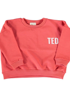 piupiuchick Unisex sweater red/white Ted