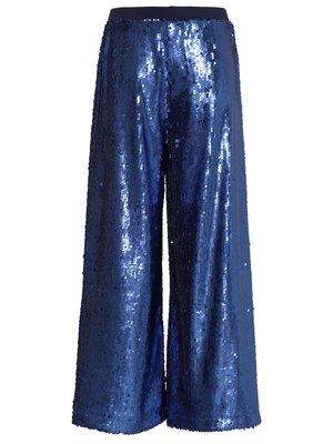 Molo Annette blue waves pailetten pantalon