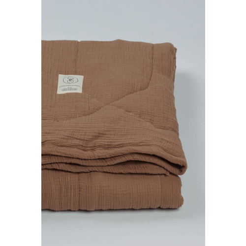 Gro Company NALA - QUILTED BLANKET COCONUT 210x140